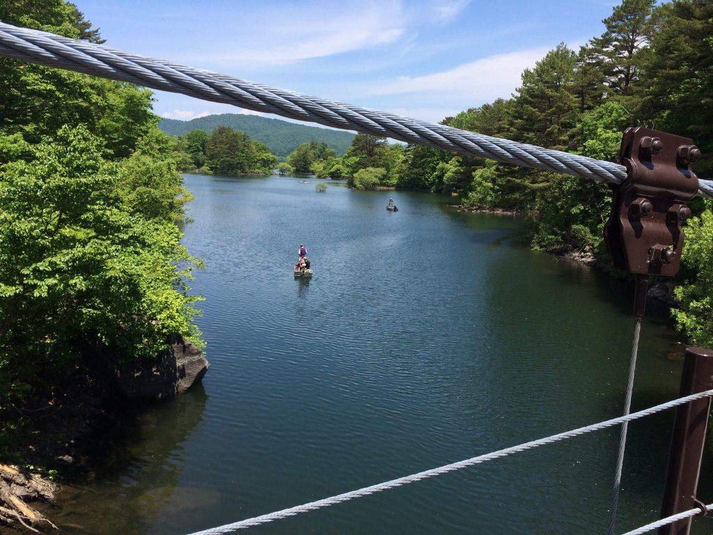 桧原湖探勝路_吊り橋