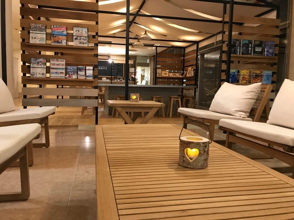 森のカフェ_休暇村