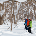 雪の裏磐梯