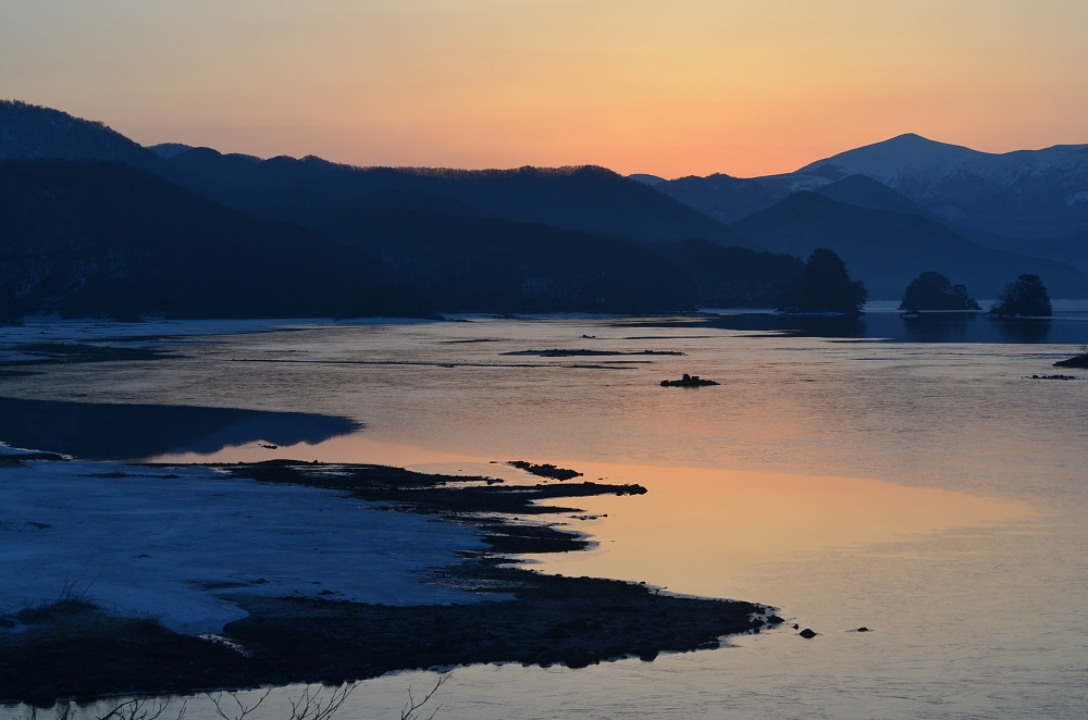 秋元湖の写真