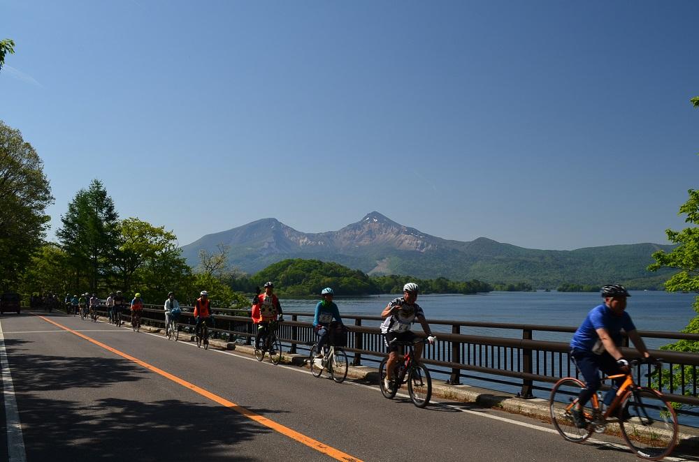 桧原湖一周サイクリング大会