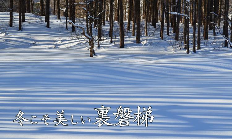 冬こそ美しい裏磐梯