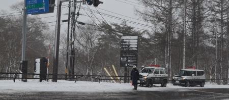 国道459号線・猪苗代町-裏磐梯の通行止めは解除になりました。
