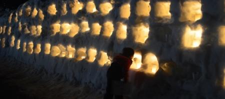 雪まつりナイトファンタジー2020は無事終了しました。