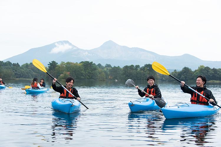 小野川湖スプラッシュレイクカヌー