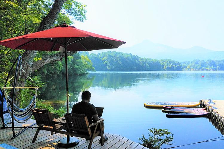 裏磐梯桧原湖畔 松原キャンプ場のイメージ画像